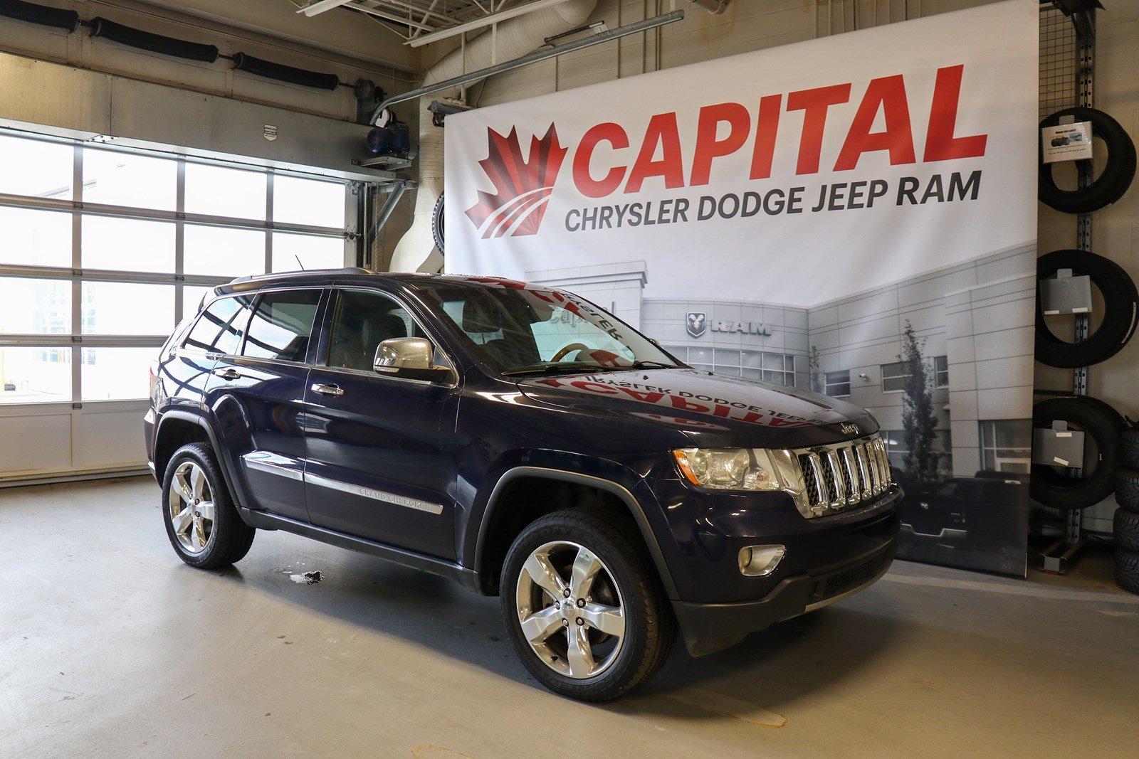 2012 Jeep Grand Cherokee Overland | GPS Navigation | Dual Pane Sunroof | SUV