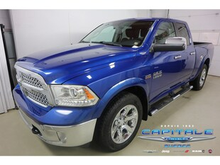 2014 Ram 1500 Laramie *4X4 AWD V8 Plan OR 6ans/120 000KM* Camion Quad Cab