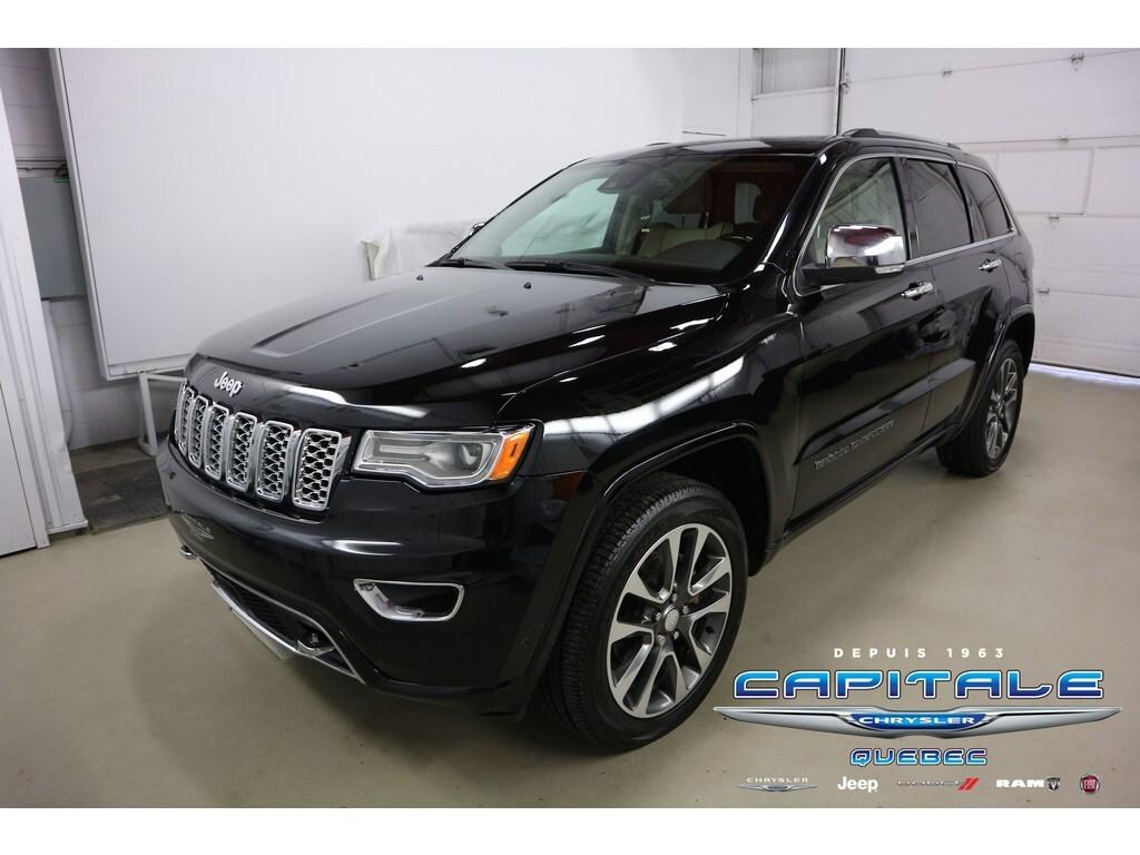 2018 Jeep Grand Cherokee Overland *4X4 AWD Bluetooth Cuir* VUS