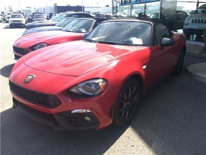 2017 FIAT 124 Spider Abarth *Turbo Bluetooth* Décapotable ou cabriolet