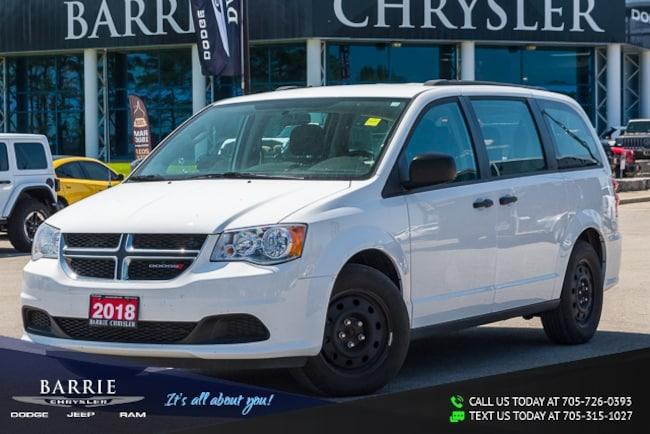 2018 Dodge Grand Caravan CANADIAN VALUE PACKAGE | 7 PASSENGER | 1-OWNER | B Minivan