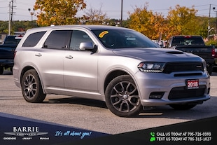 2018 Dodge Durango R/T MODEL | NAVIGATION/GPS | POWER SUNROOF/MOONROO SUV