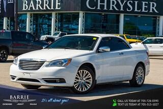 2011 Chrysler 200 Limited LIMITED MODEL   HARDTOP CONVERTIBLE   NAVIGATION/GPS Car