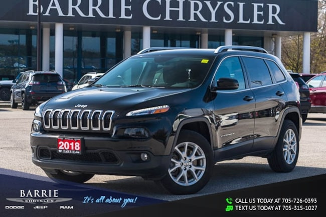 2018 Jeep Cherokee ALTITUDE PACKAGE | 4X4 | V6 | BACK UP CAMERA | HEATED SEATS Sport Utility