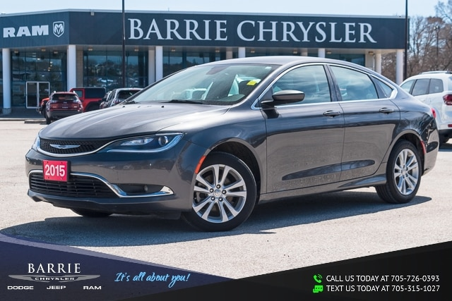 2015 Chrysler Chrysler 200 ***LIMITED MODEL***BLUETOOTH***BACK UP CAMERA***9  Car