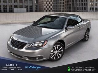 2012 Chrysler 200 S CONVERTIBLE HARDTOP | NAVIGATION/GPS | BLUETOOTH Convertible
