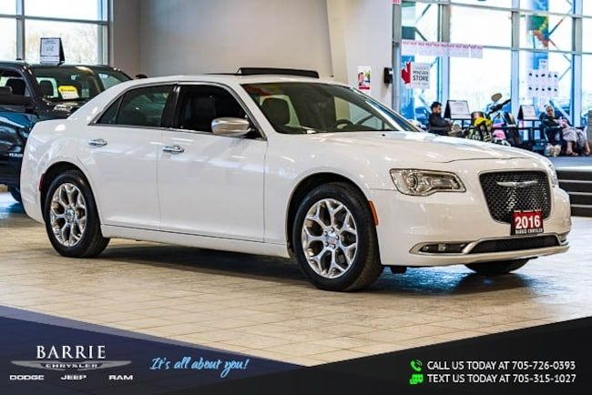 2016 Chrysler 300 C Platinum AWD PLATINUM MODEL | PANORAMIC SUNROOF/MOONROOF | NAVIGATION/GPS | Sedan