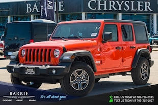 2019 Jeep Wrangler Unlimited Unlimited Sport S SUV