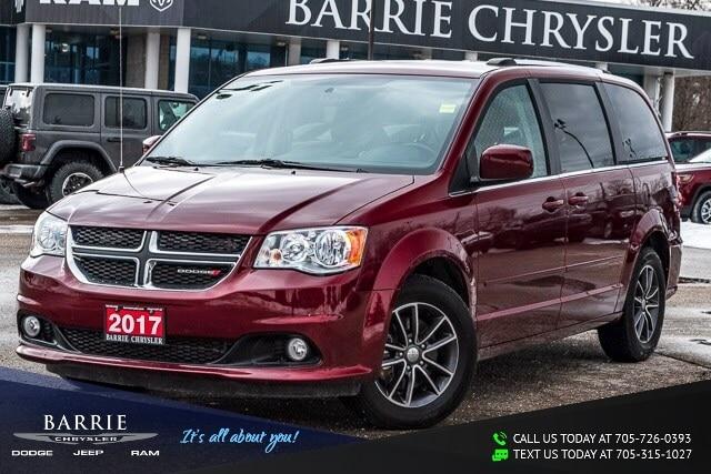 2017 Dodge Grand Caravan ***SXT PREMIUM PLUS MODEL***NAVIGATION/GPS***DVD** Van Passenger