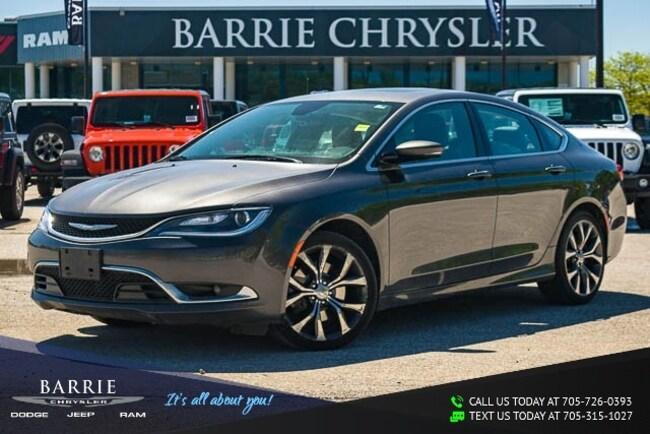 2016 Chrysler 200 C MODEL | PANORAMIC POWER SUNROOF | NAVIGATION/GPS Car