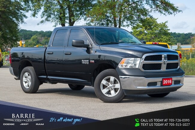 2016 Ram 1500 SXT APPEARANCE GROUP | 1-OWNER | PURCHASED HERE | Quad Cab Pickup