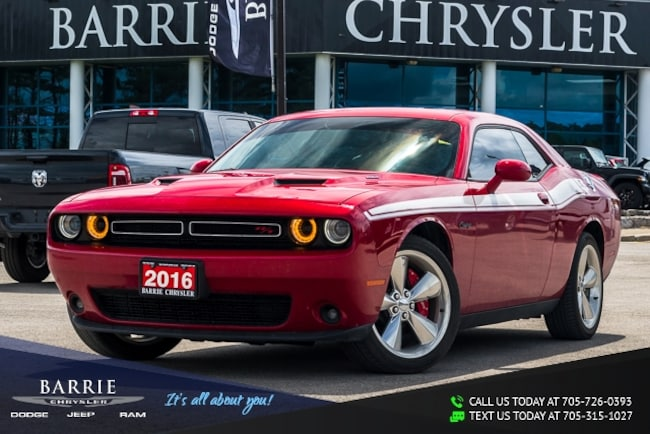 2016 Dodge Challenger R/T MODEL | NAVIGATION/GPS | POWER SUNROOF/MOONROO Coupe