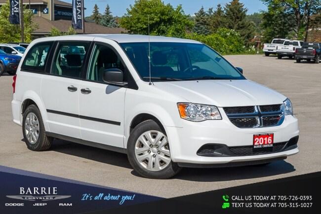 2016 Dodge Grand Caravan CANADIAN VALUE PACKAGE | 7 PASSENGER Minivan