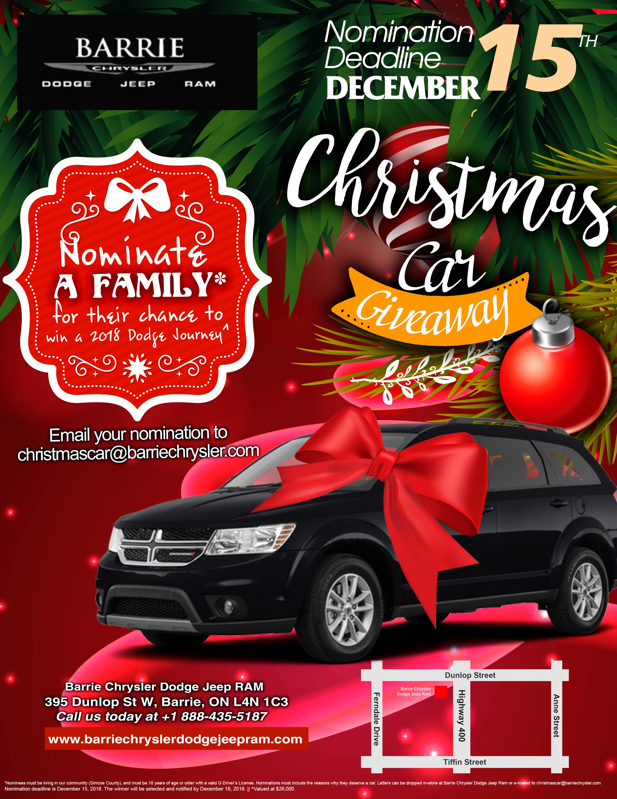 Ionia christmas car giveaway