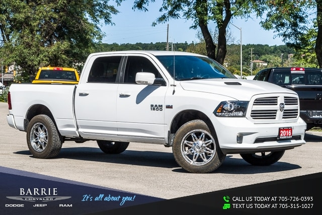 Used Tires Barrie >> Used 2016 Ram 1500 Sport For Sale Barrie On