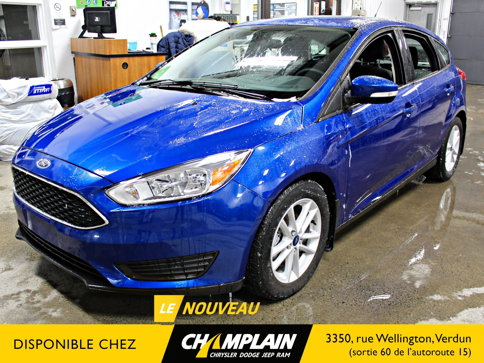 2018 Ford Focus SE | CAMERA | BLUETOOTH | SIEGES CHAUFF | À hayon