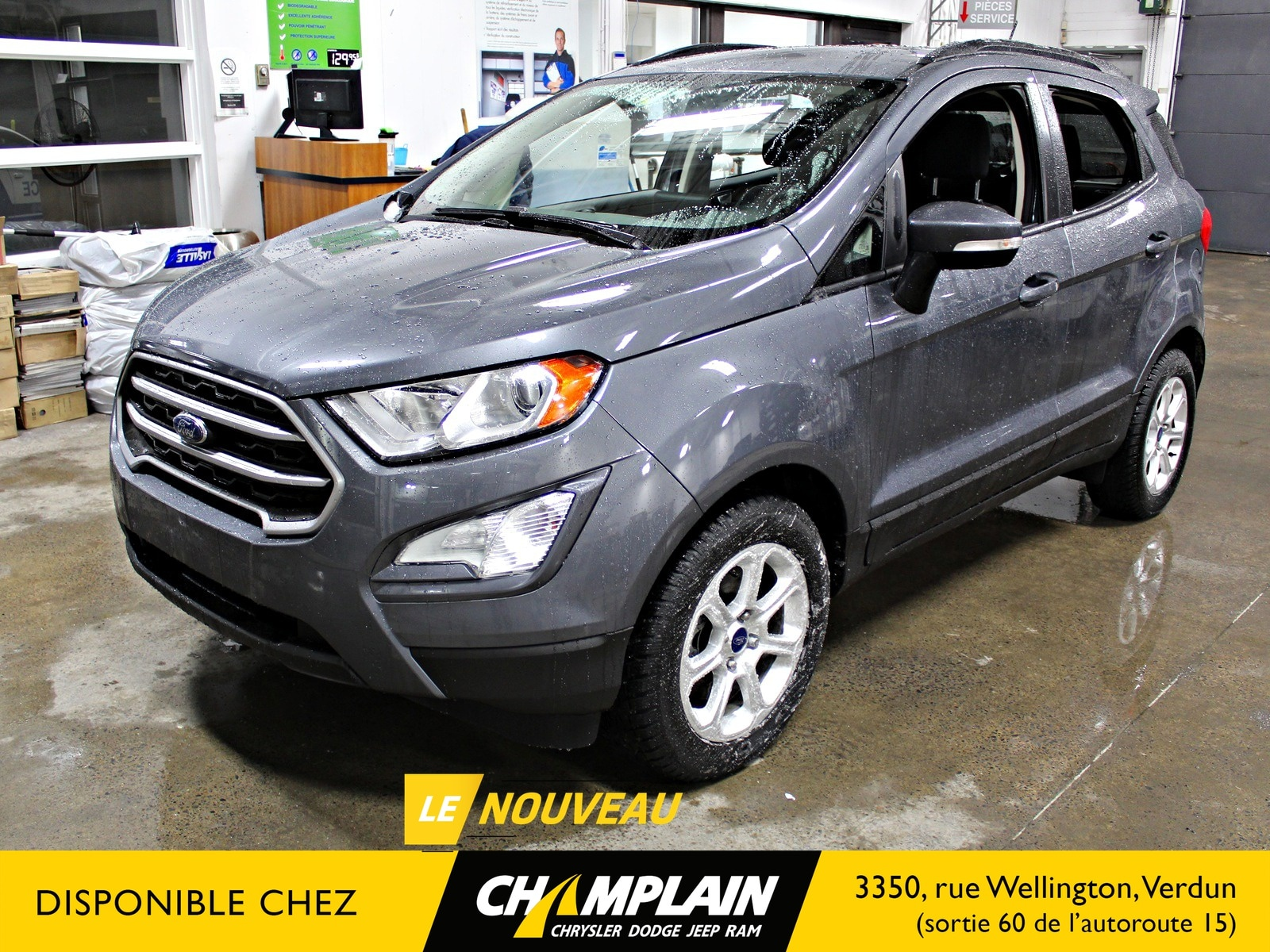 2018 Ford EcoSport SE | CAMERA | GPS | SIEGES CHAUFFANTS VUS