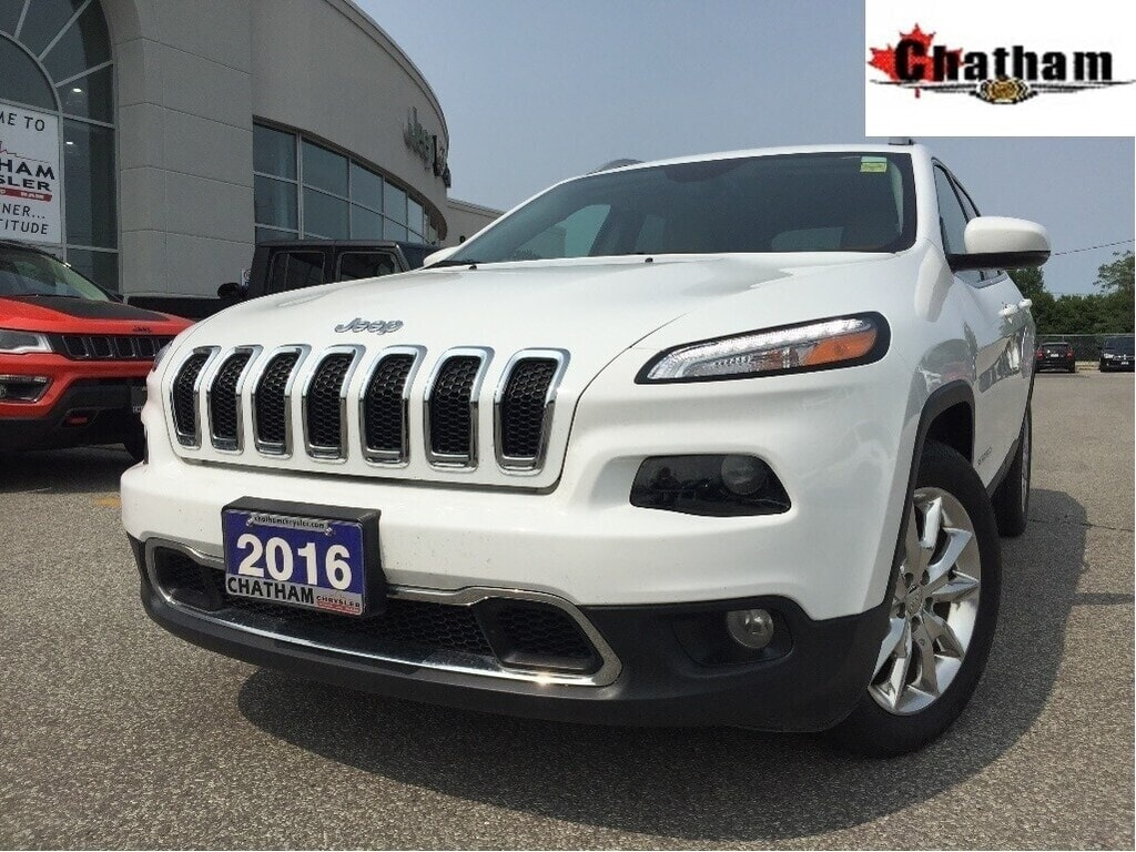 2016 Jeep Cherokee Limited/NAV/Heatedseats/Remotestart SUV