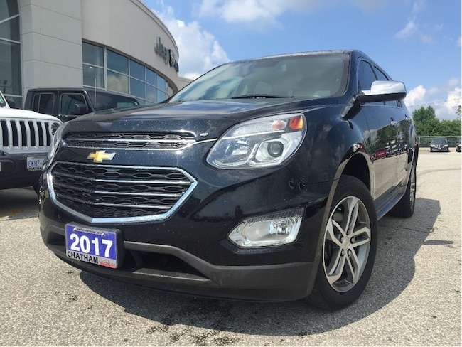 2017 Chevrolet Equinox Premier/Leather/Heatedseats/NAV SUV