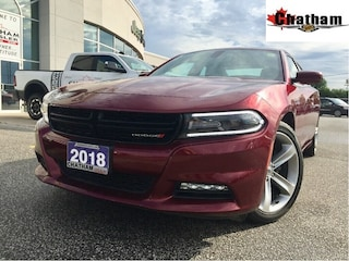 2018 Dodge Charger Plus/Xrental/Leather/Sunroof/Heated&Vented Sedan