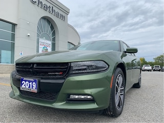 2019 Dodge Charger AWD/Uconnect8.4/Nav/Sunroof/Vented Seats Sedan