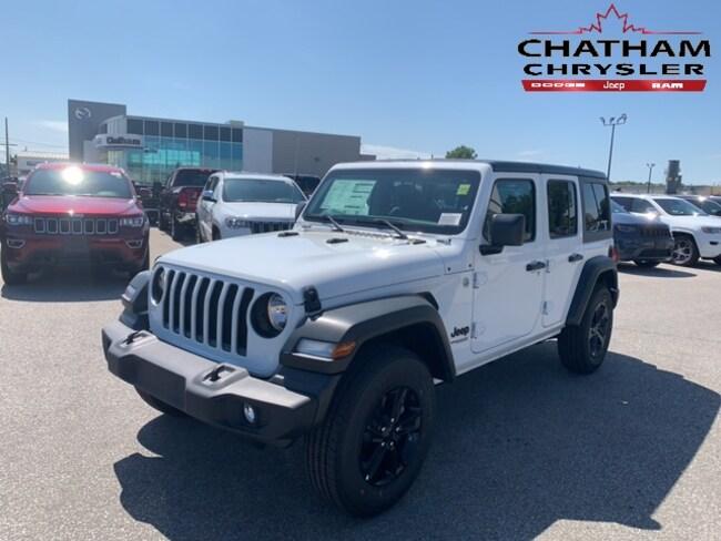 2019 Jeep Wrangler Unlimited Sport S SUV