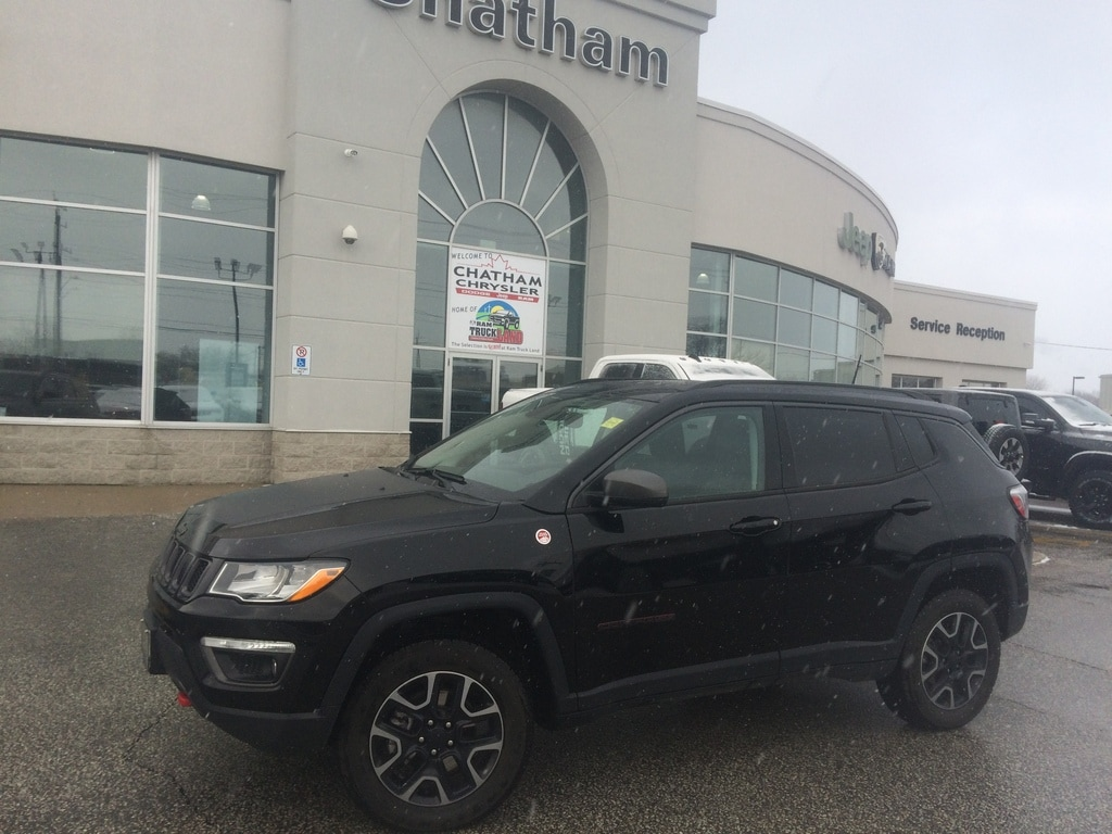 2019 Jeep Compass Nav/ Pano Roof/ Heated Seats/ Trail Rated SUV