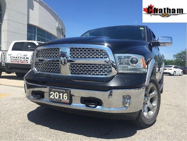 2016 Ram 1500 Laramie/NAV/Sunroof/Heated&Ventedseats/1ow Truck Crew Cab
