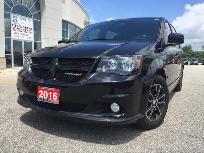 2016 Dodge Grand Caravan R/T/ NAV/Safetysphere/DVD/Fresh Trade!