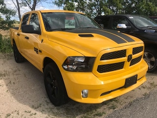 New 2019 Ram 1500 Classic Express Stinger Yellow Truck Crew Cab 1C6RR7KT8KS649069 for sale near you in Gimli, MB