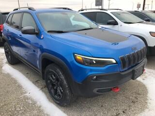 New 2020 Jeep Cherokee Trailhawk SUV 1C4PJMBN3LD515423 for sale near Winnipeg, MB