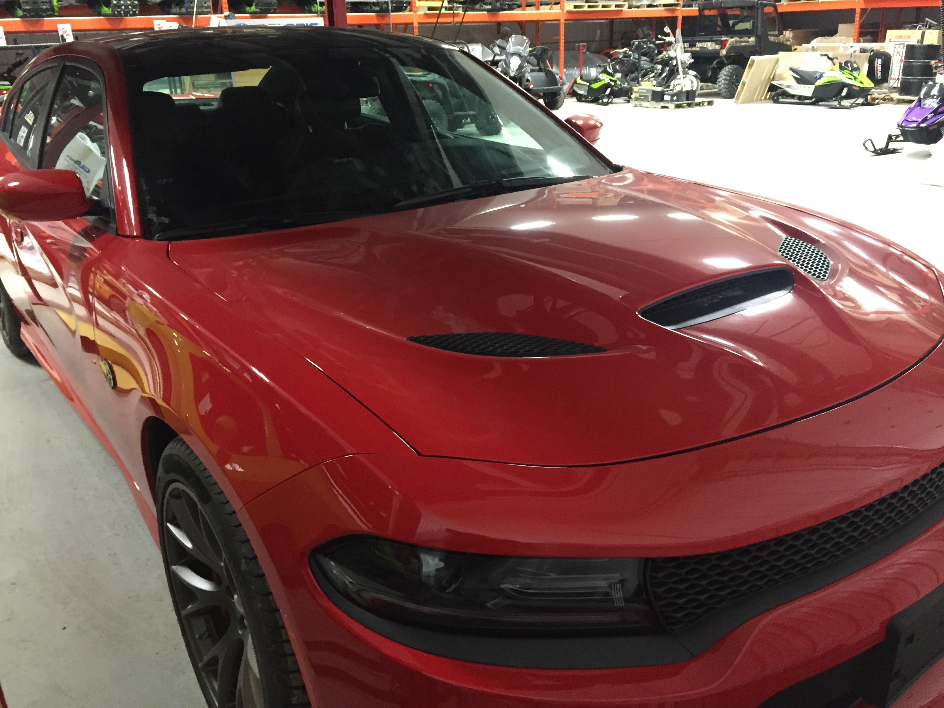 Featured Used 2015 Dodge Charger SRT Hellcat Sedan for sale near you in Gimli, MB near Winnipeg