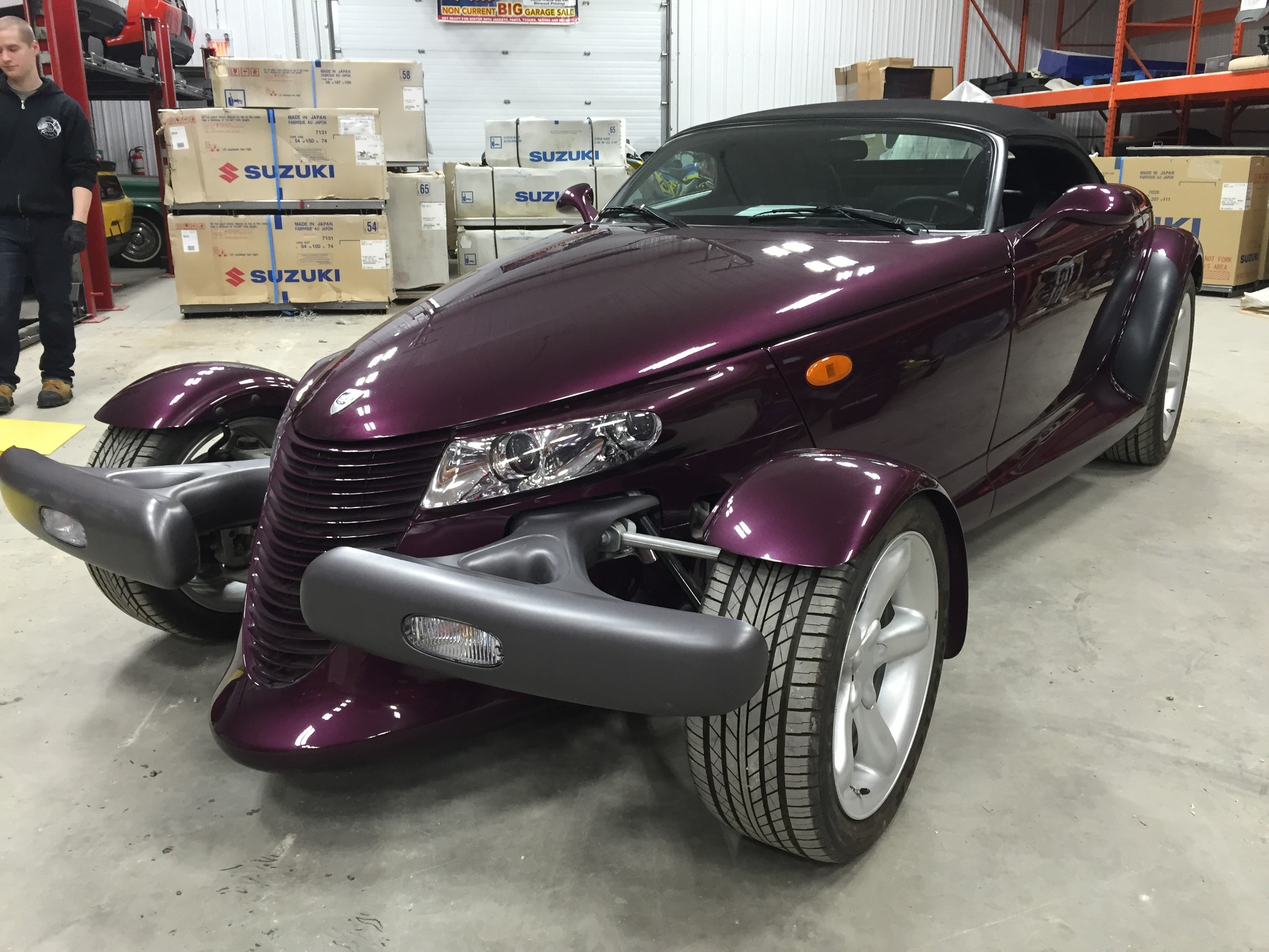 Featured Used 1999 Plymouth Prowler Convertible for sale near you in Gimli, MB
