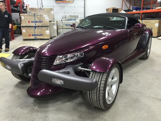 Used 1999 Plymouth Prowler Convertible  Serving Winnipeg