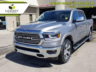 2019 Ram 1500 Laramie - Leather Seats -  Cooled Seats Crew Cab