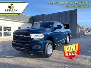 2019 Ram 3500 Big Horn - Diesel Engine - Sunroof Crew Cab
