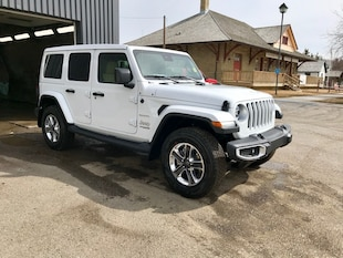 2019 Jeep Wrangler Unlimited Sahara - Leather Seats SUV