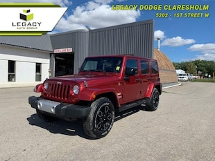 2013 Jeep Wrangler Unlimited Sahara 4X4 SUV