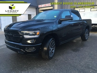 2019 Ram 1500 Sport - Hemi V8 - Leather Seats Crew Cab