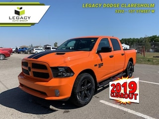 2019 Ram 1500 Classic Express Ignition Orange Sport Package Crew Cab