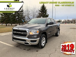 2019 Ram 1500 Tradesman -  Uconnect -  Bluetooth Crew Cab