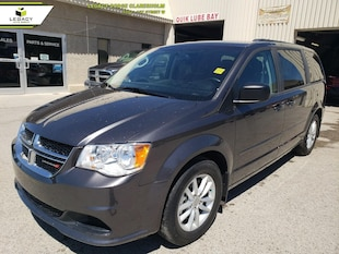 2016 Dodge Grand Caravan SXT Plus DVD Dual Climate LOW KMS Van