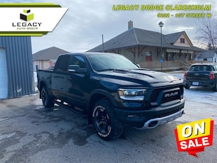 2020 Ram 1500 Rebel - Sunroof Crew Cab