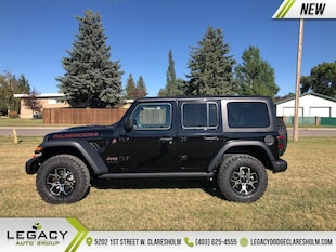 2021 Jeep Wrangler Rubicon Unlimited - Leather Seats SUV