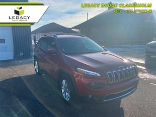 2015 Jeep Cherokee Limited - Leather Seats -  Bluetooth SUV