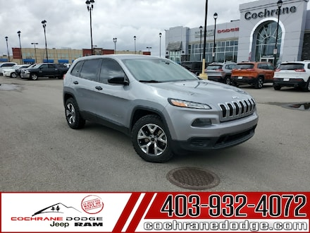 2014 Jeep Cherokee Sport 4x4 with Bluetooth and Off-road Tires! SUV