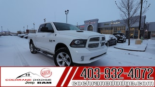 2016 Ram 1500 Sport with Air suspension and RAMBOX! Truck Crew Cab