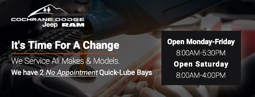 Quick-Lube, We Service All Makes & Models. We have 2 no appointment Quick-Lube bays