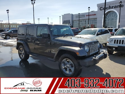 2016 Jeep Wrangler Unlimited Sahara with NAV JUST LOWERED! SUV