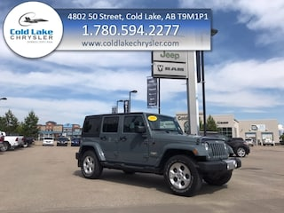 Pre-owned 2014 Jeep Wrangler Sahara SUV for sale in Cold Lake AB